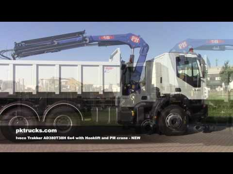 iv2650 Iveco AD380T38H 6x4 with PM crane