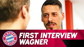 """""""I've come full circle"""" - First Interview with Sandro Wagner at FC Bayern"""