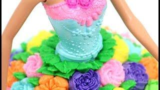 Princess Doll Cake | RUSSIAN PIPING TIPS  | Boquillas Rusas