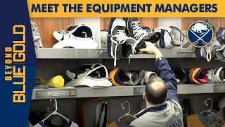 Meet the Sabres Equipment Managers | Beyond Blue & Gold