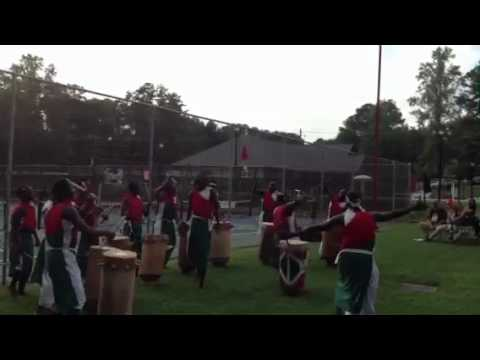 Burundi Drummers of Atlanta at National Night Out