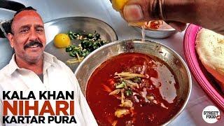 Old Food Street of Kartar Pura | Kala Khan Nihari Breakfast | Pakistani Street Food | Rawalpindi