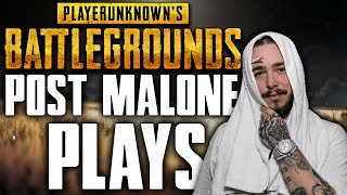 Post Malone Plays PUBG! - Post Malone PUBG Stream Highlights