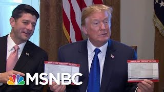 GOP Moving To Quickly Push Through Tax Bill Deal | MSNBC