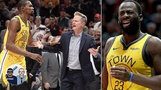 Dissecting the flagrant foul on Draymond Green that led to Steve Kerr's ejection   Jalen & Jacoby