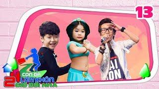 24 GIỜ ĐỔI NHÀ | Tập 13 FULL | Thiên Tùng Vietnam Idol kids 'rủ rê' mẫu nhí Ben Lee vào rừng sống 🎍