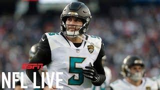 Is Blake Bortles a better investment than Kirk Cousins? | NFL Live | ESPN