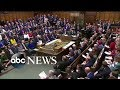 Lawmakers prepare to vote on Brexit | ABC News