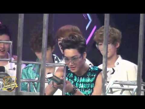 [Fancam] 120721 Happy Camp Game Sehun,Luhan,Kai Focus