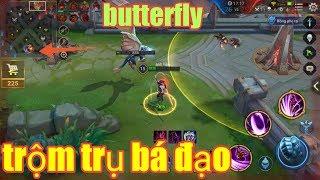 Liên Quân Mobile _ Gặp Team Quá Yêu Không Thể Đấu Lại   Butterfly Lạnh Lùng Trộm Trụ Ai Cũng Bất Ngờ