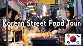We Tried Famous Street Food in Seoul, South Korea (Myeong-dong [명동길거리])