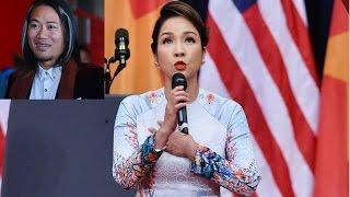 """#Vượng Râu vô lễ khi 'chửi đổng' ca sĩ Mỹ Linh: """"Chị hát thối lắm!"""""""