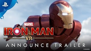 Marvel's Iron Man VR | Announce Trailer | PS VR