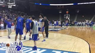 Kentucky open practice before 1st NCAA game