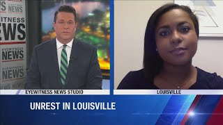 WDRB's Grace Hayba on Louisville after Breonna Taylor decision