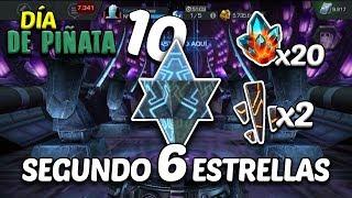 Día de Piñata 10 | 2do 6 Estrellas | Necesito Alianza ♥ - Marvel Contest Of Champions