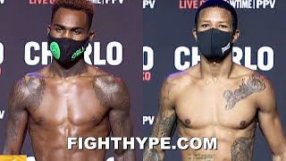 JERMELL CHARLO VS. JEISON ROSARIO FULL WEIGH-IN & INTENSE FINAL FACE OFF
