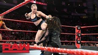 Ronda Rousey & Ember Moon vs. Nia Jax & Tamina: Raw, Dec. 3, 2018