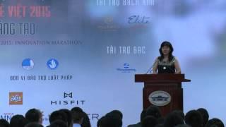 Bà Lê Diệp Kiều Trang phát biểu tại Hội nghị Connecting VietYouth | Phóng sự | 2015