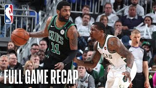 CELTICS vs BUCKS | Boston's Defense Swarms Milwaukee | Game 1