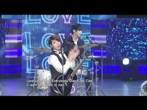100903 第37屆 韓國廣播大獎頒獎典禮 - CNBLUE -《LOVE》