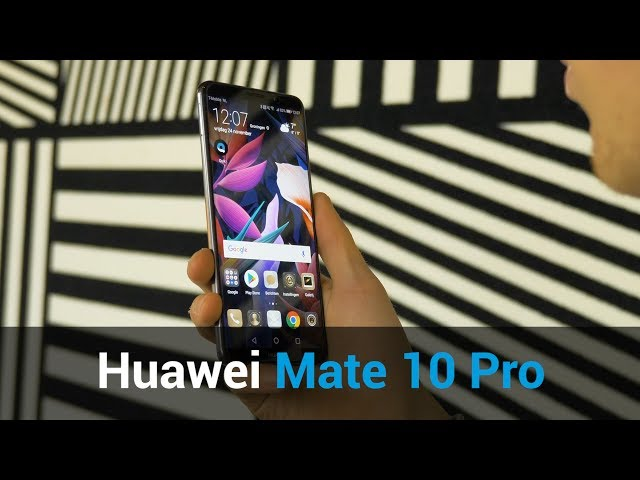 Belsimpel.nl-productvideo voor de Huawei Mate 10 Pro 64GB Brown