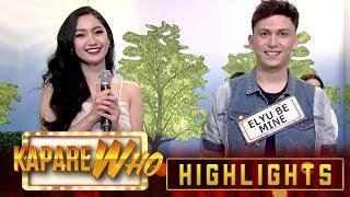 Pinoy Big Vlogger chooses Elyu Be Mine as her KapareWho | It's Showtime KapareWho