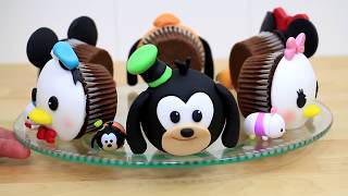 DISNEY CUPCAKES How To Make by Cakes StepbyStep