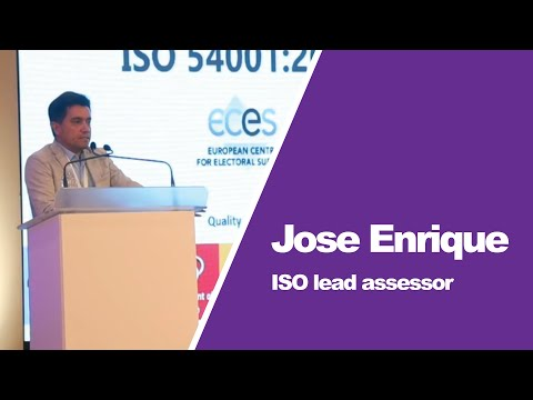 Jose Enrique on ISO Certification Process