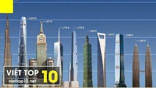 🌍 Top 10 Tòa Nhà Cao Nhất Thế Giới 2018 - Landmark 81 của Việt Nam ở vị trí số mấy?