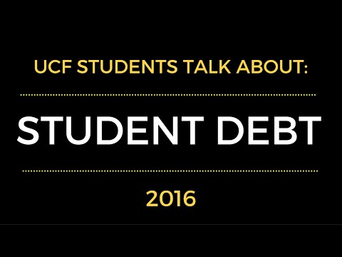 UCF Students Talk About Student Loan Debt