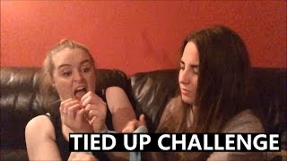 LESBIAN TIED UP CHALLENGE?!