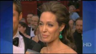 OntheRedCarpet Brad Pitt and Angelina Jolie