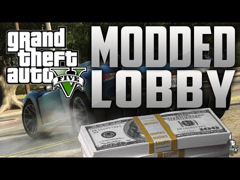 GTA 5 Online Modded Lobby - Unlimited Money $500M  & RP AFTER PATCH GLITCH - GTA V HACKED LOBBY - Smashpipe Games