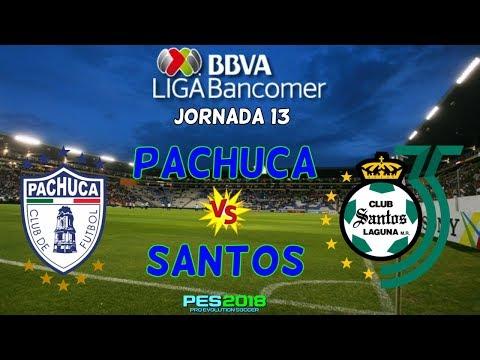 Pachuca vs Santos Laguna