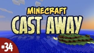 Minecraft Cast Away - #34 - Introverted Creeper