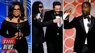 Golden Globes 2018: The Most Memorable Moments | THR News