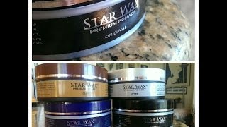 Star Wax Premium Pomade Review - Hairstyle inspiration - Pompadour / Messy hair -