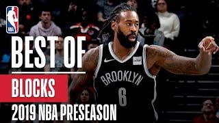 BEST BLOCKS From 2019 NBA Preseason