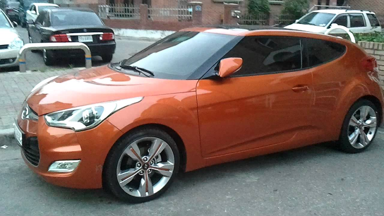 Hyundai Veloster Orange Youtube