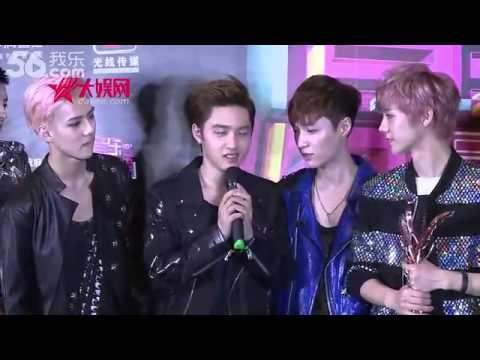 130414 EXO d.o singing @ 13th Billboard Music Awards 엑소