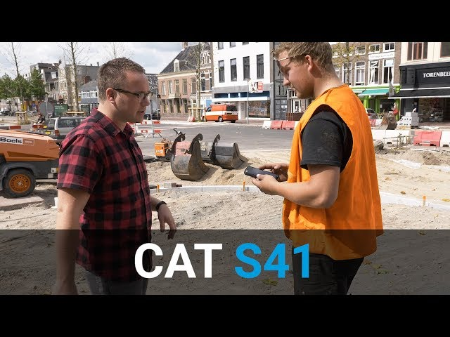 Belsimpel-productvideo voor de Cat S41 Dual Sim Black