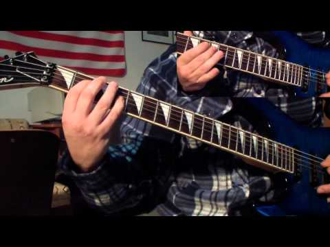 Entombed - Left Hand Path (guitar cover)