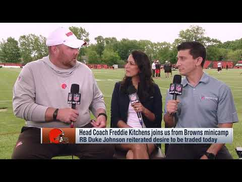 Freddie Kitchens on Duke Johnson: I expect him to be a Brown this season | Cleveland Browns