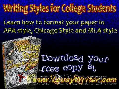 Chicago manual of style master thesis