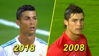 Cristiano Ronaldo ● 23 Years Old vs 33 Years Old