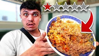 Eating At The Worst Reviewed Restaurant In My City (1 STAR RATED)