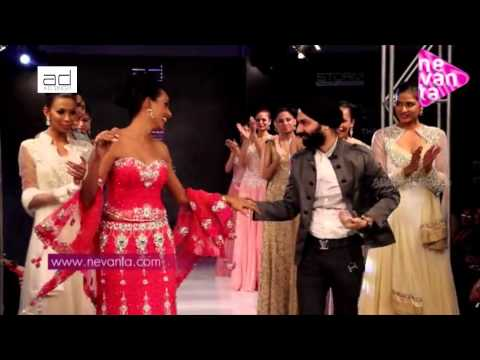 Reshmi Ghosh Experiences with AD Singh's Collection @ Bengal Fashion Week