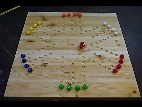 How To Make A Marble Game Board Woodlogger Com Youtube