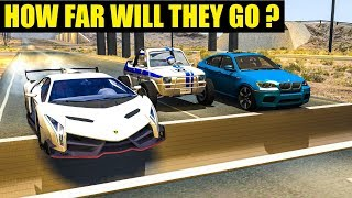 HOW FAR WILL THEY GO? (Inverted Speedbumps) #11 - BeamNG Drive